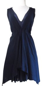 Elizabeth and James short dress Navy Cocktail Blue on Tradesy