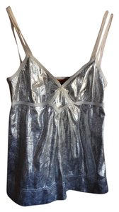 Tory Burch Metallic Top silver