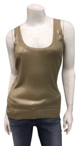 Hermès Silk Luxury Date Night Top gold