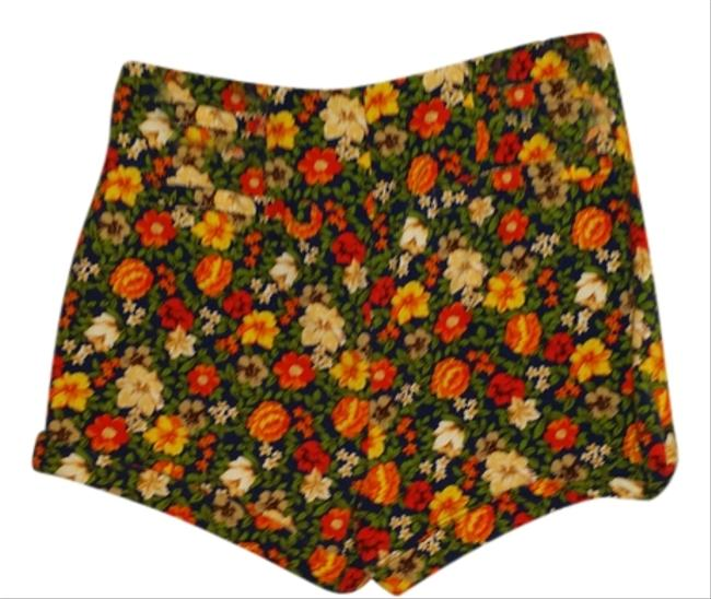 Forever 21 Mini/Short Shorts Multi Floral