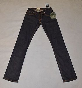 Other Nudie Super Slim Kim Dry Stretch Dark Blue Skinny Jeans