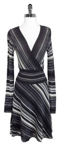 M Missoni short dress Grey/Black M Wool Viscose on Tradesy