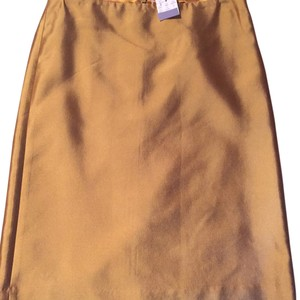 J.Crew Skirt Dark Gold