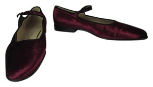 Salvatore Ferragamo Leather Ballet Logo Flats