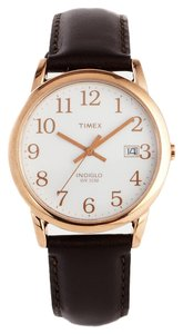 Timex Timex T2P563 Easy Reader Men's Rose Gold Analog Watch