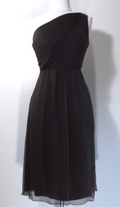 Amsale Brown G551c Dress
