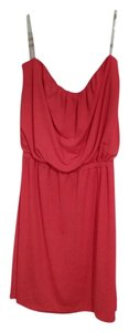 Three Hearts short dress Coral Sleeveless Comfortable on Tradesy