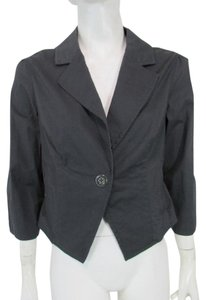 Gentle Fawn Notched Lapel One Button Military Jacket