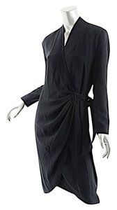 Other Tom & Linda Platt Crepe Wrap Barneys Dress