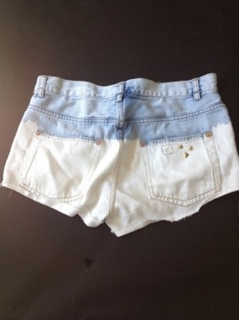 Zara Denim Shorts-Distressed