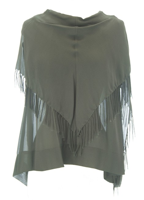 Item - Womens Charcoal Willow Shawl Blouse Sp91tp11 230