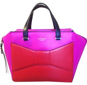 Kate Spade Tote in Pink, Red and Black