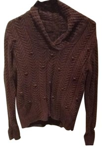 Leo & Nicole V-neck Pom Poms Casual Warm Sweater