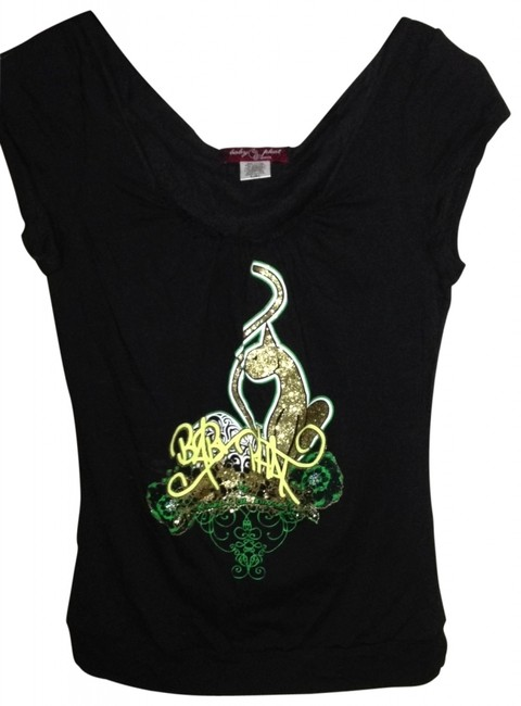 Baby Phat Graffiti T Shirt black
