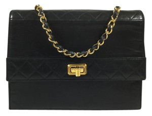 Chanel Classic Lambskin Flap Shoulder Bag