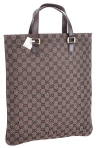 Gucci Penny Lane Laptop Tote in Brown