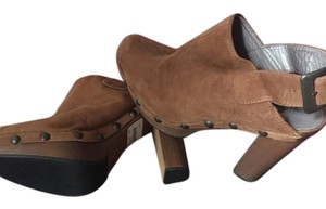 Calypso Brown Mules