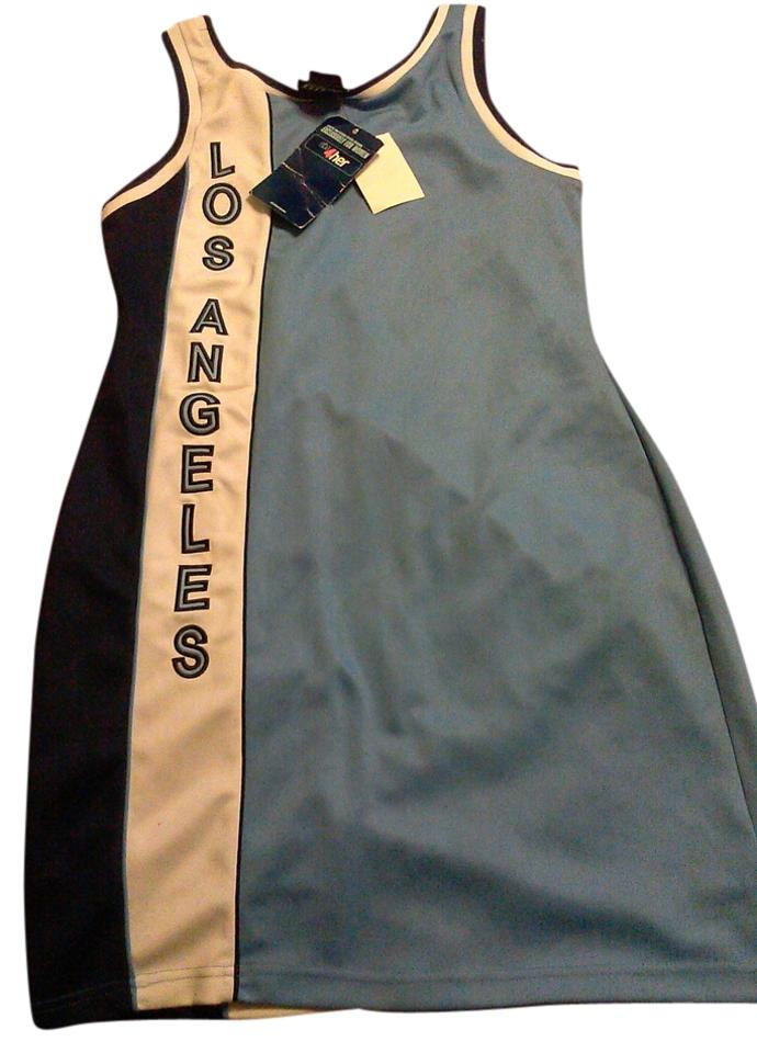 17755776380 Unknown WOMENS HARDWOOD CLASSIC LOS ANGELES LAKERS JERSEY DRESS Image 0 ...