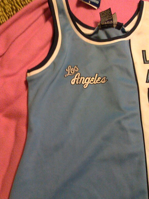 Unknown WOMENS HARDWOOD CLASSIC LOS ANGELES LAKERS JERSEY DRESS