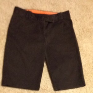 Tory Burch Casual Bermuda Shorts Brown