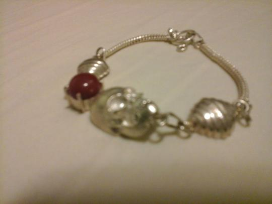 Other Skull Bracelet with Agate Stone