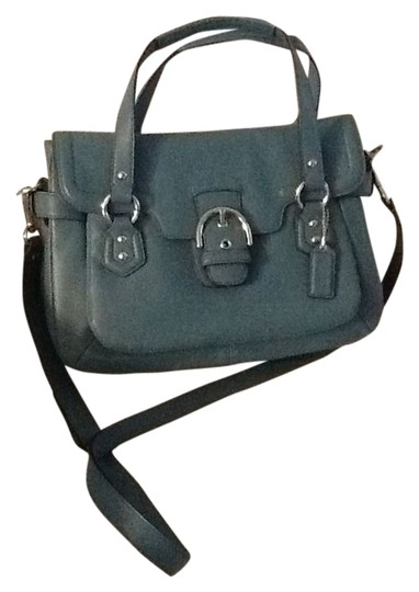 Coach Teal Satchel in Mineral/Teal