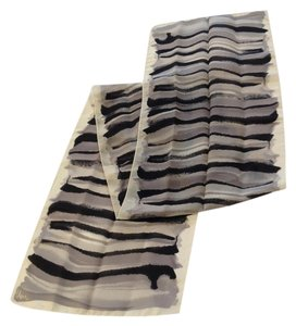 Vena Cava Black & Greys Scarf by Vena - [ Roxanne Anjou Closet ]