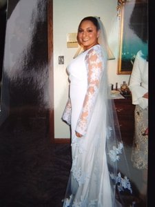 Romona Keveza Wedding Dress Size 10 (M)