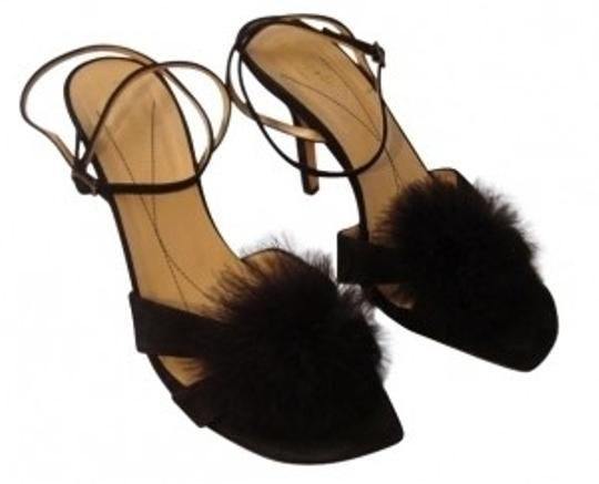Preload https://item5.tradesy.com/images/kate-spade-black-feather-plume-suede-strappy-heels-formal-shoes-size-us-85-regular-m-b-13909-0-0.jpg?width=440&height=440