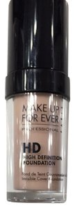 0 Degrees Make Up For Ever High Definition Foundation