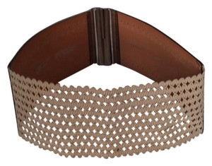 Caroll Carol Leather Stretch Belt