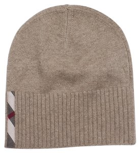 Burberry London NWT BURBERRY LONDON 100% cashmere knit beanie very chic