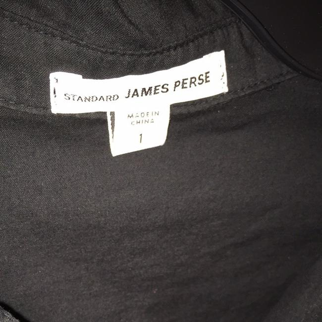 James Perse Shirt Office Button Down Shirt Black