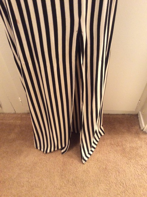 Other Maxi Skirt Black and cream stripped