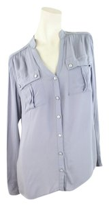 Express Button Down Shirt Grey