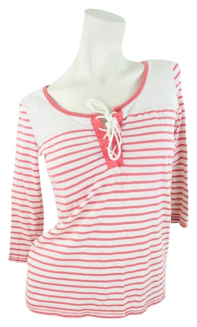 Lucky Brand Top Red & White