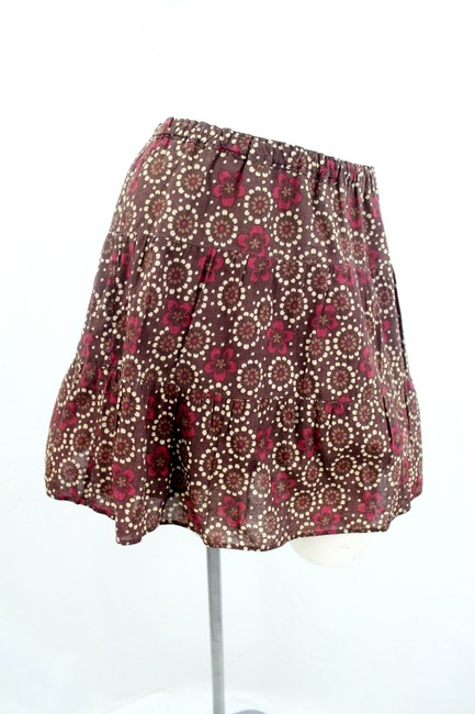 Abercrombie & Fitch Mini Skirt Brown & Multi Color