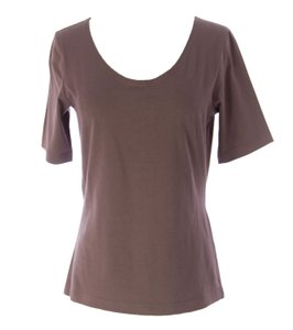 Lunn Tops Womens Lunn_top_e114la105_chocolate_2 T Shirt