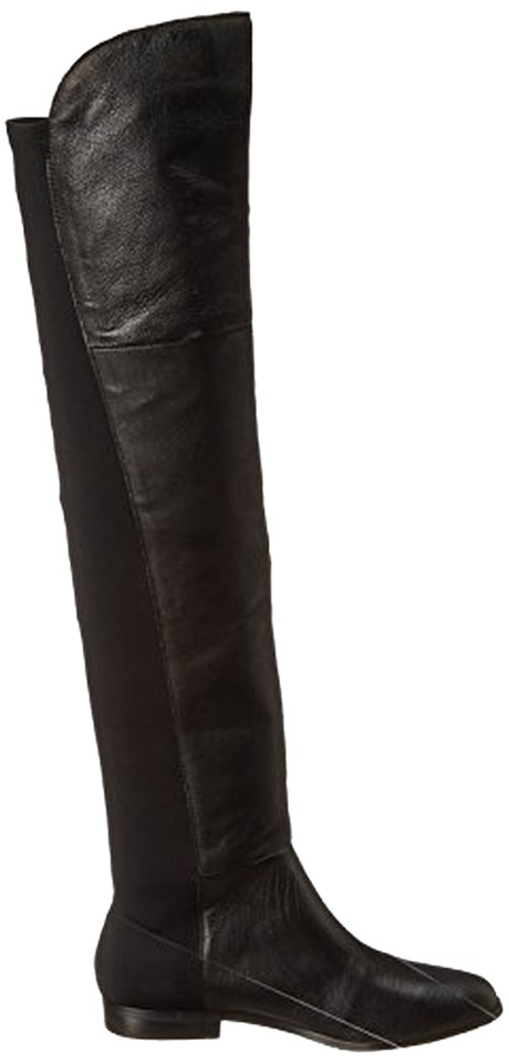 Chinese Laundry The Black 'riley' Over The Laundry Knee (Women) Boots/Booties f4dbe5