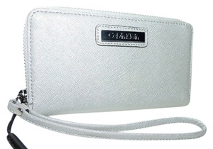 Calvin Klein Calvin Klein Saffiano Wallet/Clutch/Cell Phone Case Holder
