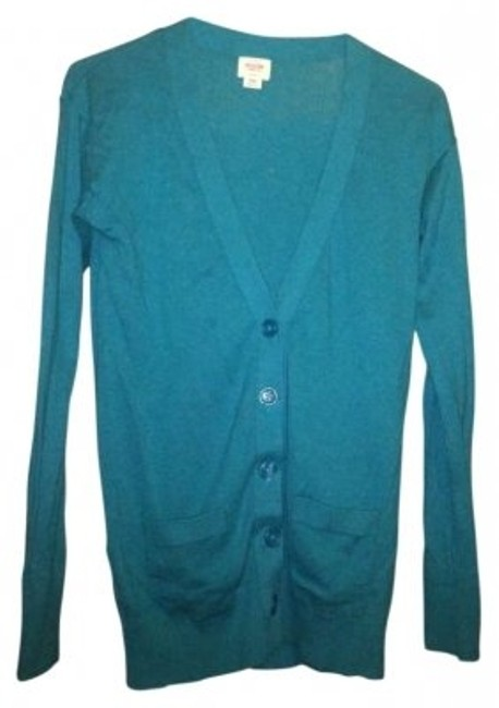 Preload https://item2.tradesy.com/images/mossimo-supply-co-teal-cardigan-size-2-xs-139151-0-0.jpg?width=400&height=650