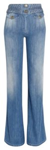 Chloé Flared High Waisted Trouser/Wide Leg Jeans