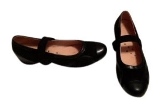 Preload https://item3.tradesy.com/images/j-loren-black-suede-and-leather-flats-size-us-65-13917-0-0.jpg?width=440&height=440