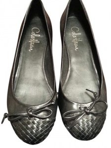 Cole Haan With Nike Air Leather Black Flats