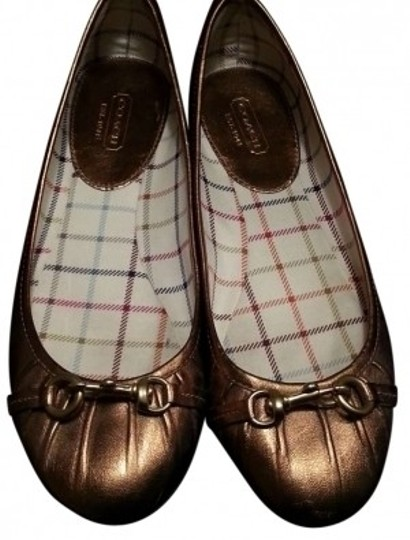 Preload https://item3.tradesy.com/images/coach-gold-ballet-flats-size-us-85-139212-0-0.jpg?width=440&height=440