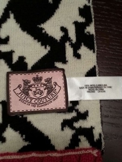 Juicy Couture Juicy Couture Scottie Dog Scarf - 100% wool!