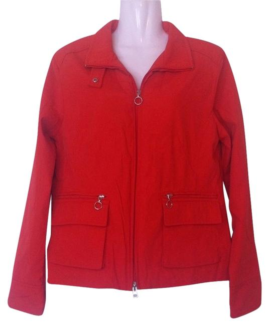 Style & Co Tangerine Womens Jean Jacket