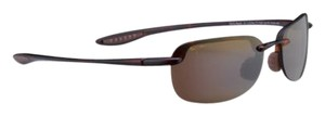 Maui Jim Maui Jim HT408N-11 Sandy Beach Color Black Polarized