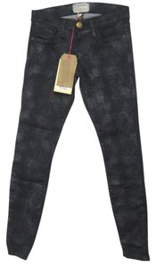 Current/Elliott Skinny Crop Ankle Skinny Jeans-Dark Rinse