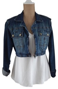 Trama Denim Womens Jean Jacket
